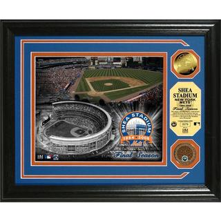Shea Stadium Final Season Dirt Coin Photo Mint