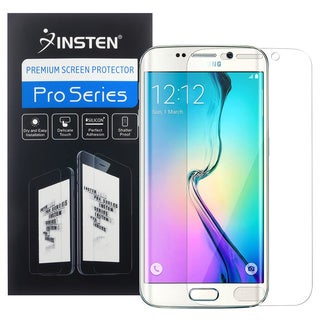 Insten Clear TPU Full Coverage Screen Protector Film for Samsung Galaxy S6 Edge