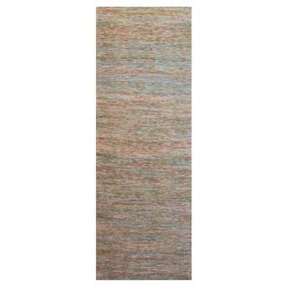 Hand-Woven Aileen Stripe Jute Rug (2'6 x 8')