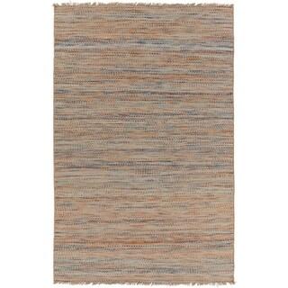Hand-Woven Aileen Stripe Jute Rug (8' x 10')