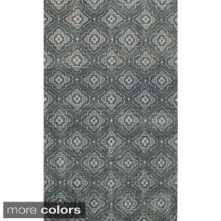 Hand-Knotted Adyson Moroccan Trallis Wool Rug (8' x 11')