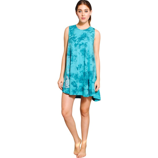 Women's Tie Dye Lotus Dress (Nepal)
