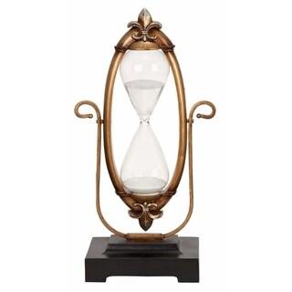 Polyresin Glass 60-minutes Hourglass Unique Nautical Decor