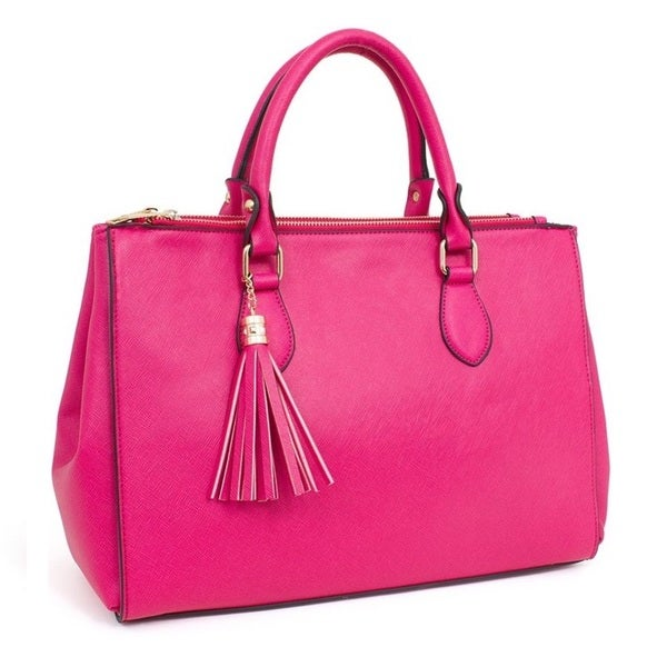 Rebecca and Rifka Tassel Tote Bag