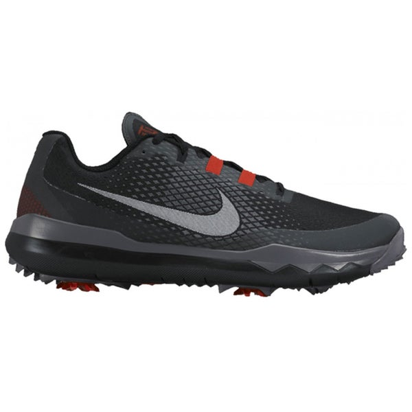 Nike Men's TW Golf Black/Red/Dark Grey/White Shoes