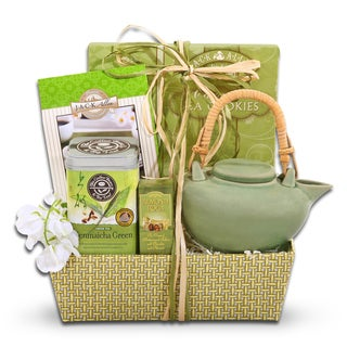 Alder Creek Coffee Bean and Tea Leaf Green Tea Mother's Day Gift Basket