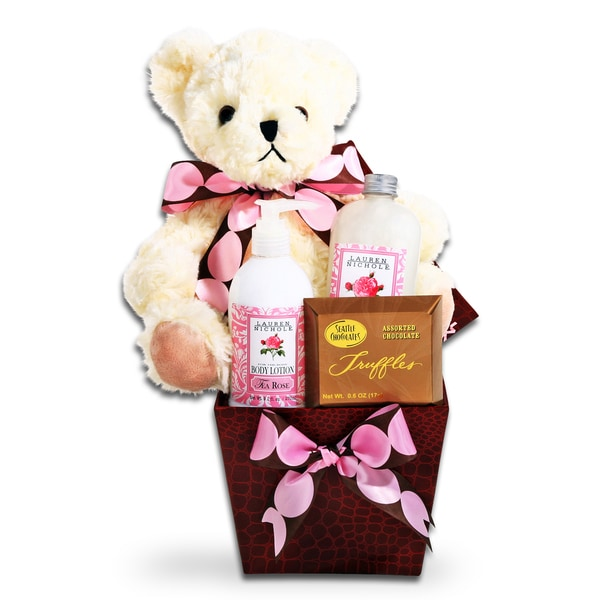 Elegant Mother's Day Relaxation Gift Basket