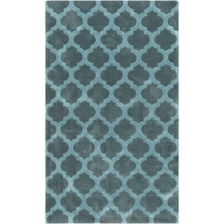 Hand-Tufted Elaine Moroccan Trellis Polyester Rug (9' x 13')