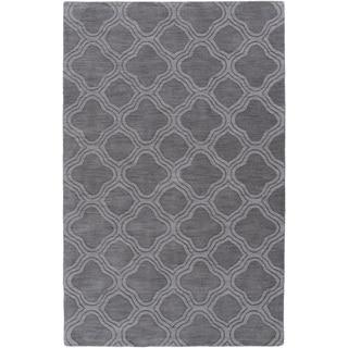 Hand-Loomed Harrell Moroccan Trellis Wool Rug (8' x 11')