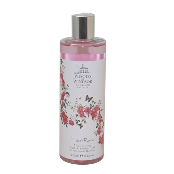 Woods of Windsor True Rose Women's 11.8-ounce Moisturizing Bath and Shower Gel