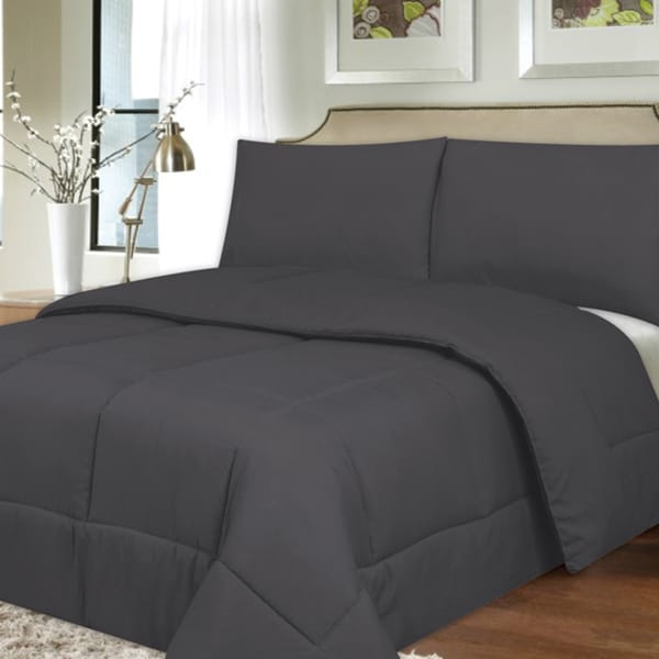 all season hypo allergenic lightweight down alternative comforter 17197233. Black Bedroom Furniture Sets. Home Design Ideas