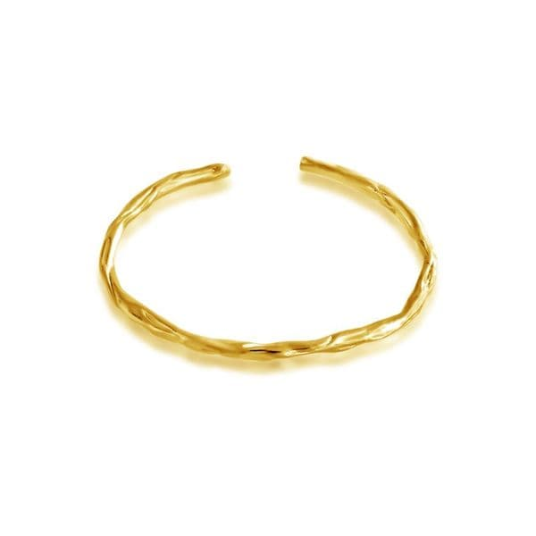 Belcho Plain Wrinkled Passion Bangle
