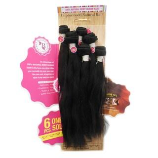 Janet Brazilian Virgin Remy Bundle Hair Natural Wave (6-piece Set)