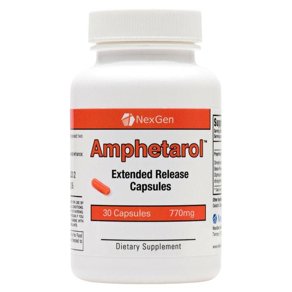 NexGen Biolabs Amphetarol Extended Release Capsules (30 Count)