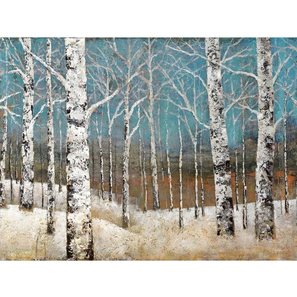 White Forests Original Hand painted Wall Art