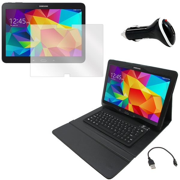 Galaxy Tab 4 T530 Screen Protector/ BT Folio and Charger