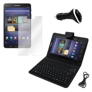 Galaxy Tab 4 T230 Screen Protector/ BT Folio and Charger