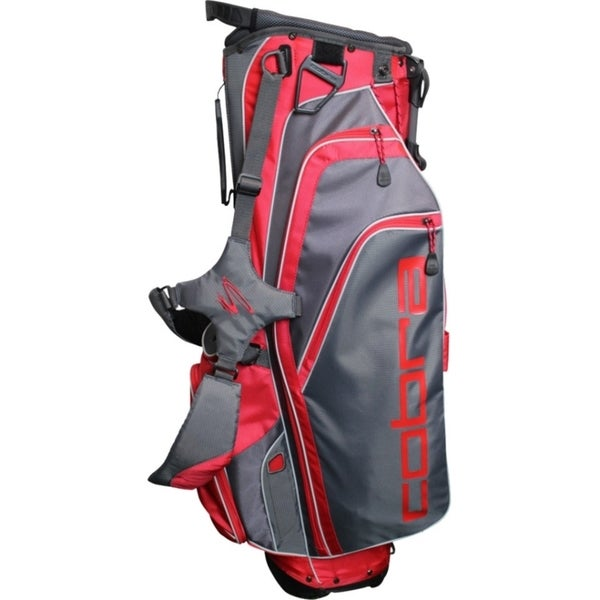 Cobra X Lite Carrying Case for Golf - Black, Flame Scarlet