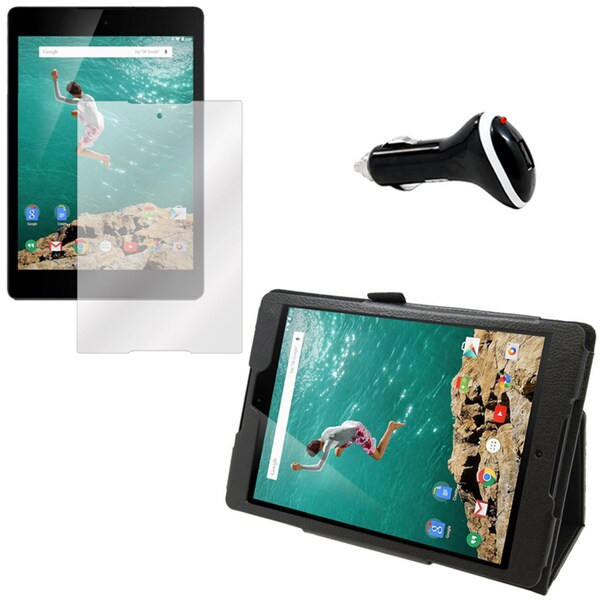 Google Nexus 9 Screen Protector/ Folio and Charger