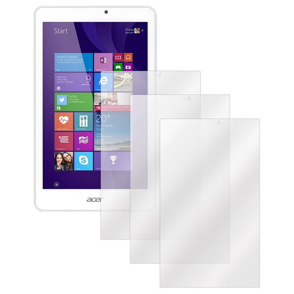 Screen Protectors for Acer Iconia Tab W1810 (Set of 3)