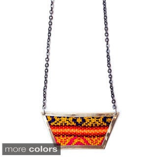 Alanis Aguayo Trapezoid 18-inch Necklace (Bolivia)