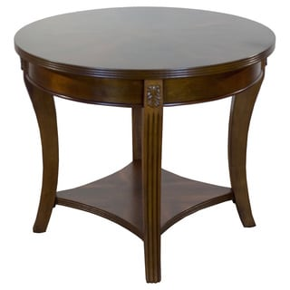 Wellington Cherry Finished Round End Table