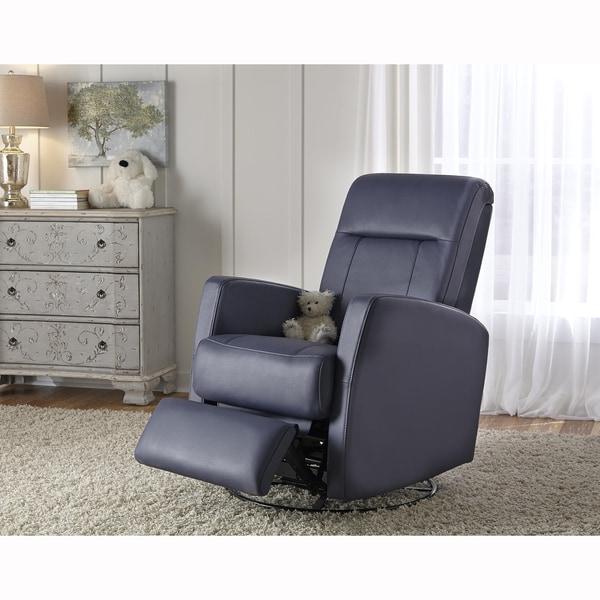 Lily Purple Nursery Swivel Glider Recliner Chair