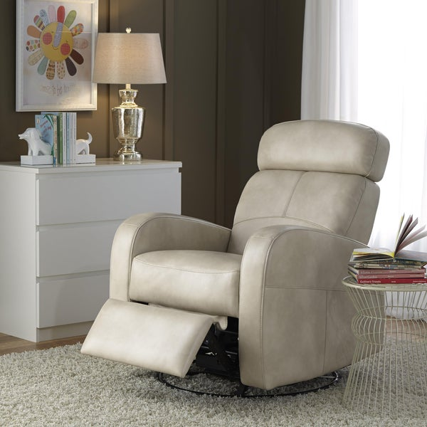 Isla Cream Nursery Swivel Glider Recliner Chair