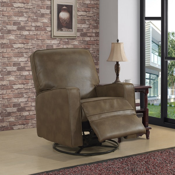Owen Brown Nursery Swivel Glider Recliner Chair