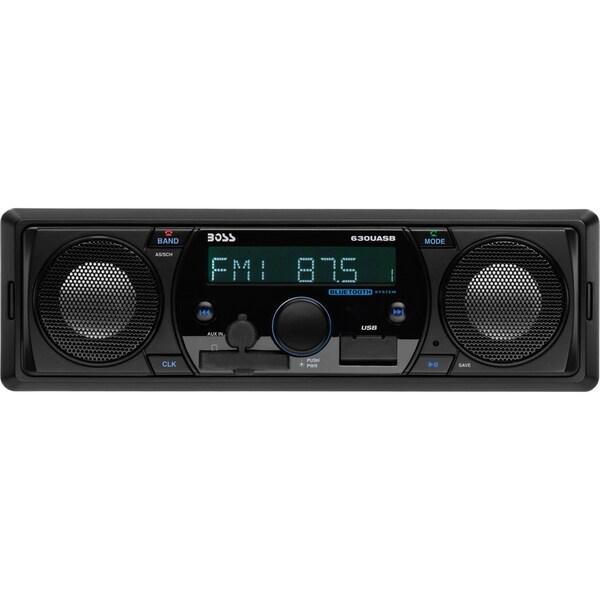 Boss Audio 630UASB Single-DIN MECH-LESS Receiver, Bluetooth, Wireless
