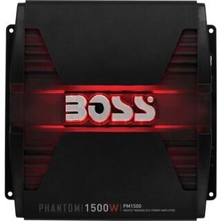 Boss Audio PM1500 Phantom 1500-Watt Monoblock, Class A/B 2 to 8 Ohm S