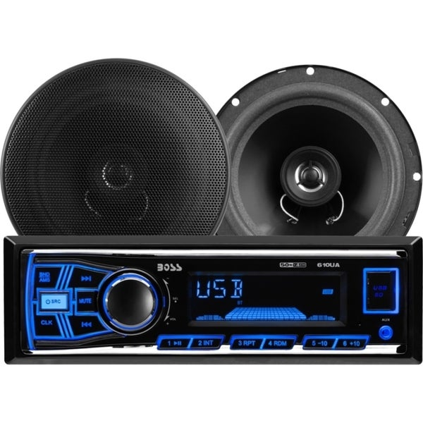 Boss 636CK Automotive Audio Player/Speaker Kit