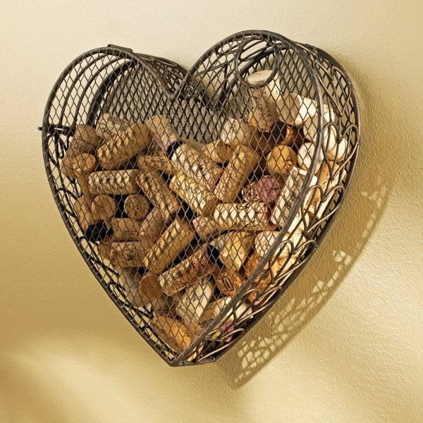 Heart Wine Cork Catcher