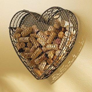 Heart Wine Cork Catcher
