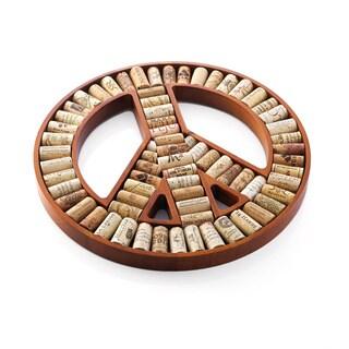 Peace Sign Wine Cork Kit
