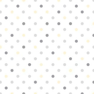 Con-Tact Brand Dottie Grey Creative Covering Self-adhesive Shelf Liner (Pack of 6)