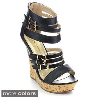 Spirit Moda ADA-1 Women's Platform Heel Wedges