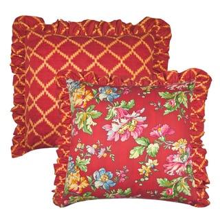 Cassandra 26-inch Euro Throw Pillow (set of 2)