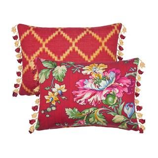 Rose Tree Cassandra Breakfast Pillow (Set of 2)