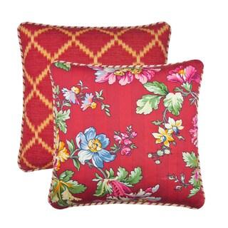 Cassandra 18-inch Throw Pillow (Set of 2)