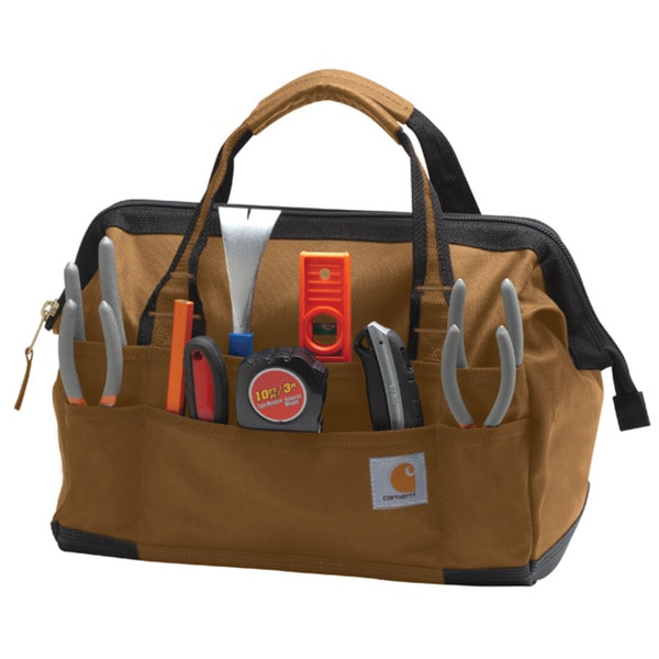 Carhartt Brown Legacy 14-inch Tool Bag