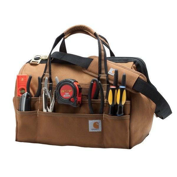 Carhartt Brown Legacy 16-inch Tool Bag