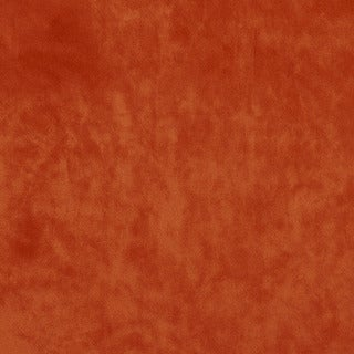 K0300B Vibrant Orange Contemporary Solid Plush Stain Resistant Microfiber Velvet Upholstery Fabric b