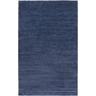 Hand-Knotted Zachary Solid Indoor Rug (9' x 13')