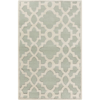 Candice Olson Hand-Tufted Schmit Morrocan Trellis Rug (8' x 11')