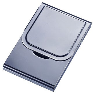 Arew Large Size Gunmetal Business Card Case