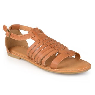 Journee Collection Women's 'Heather' Gladiator T-strap Sandals