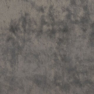 K0300Q Modern Grey Solid Plush Stain Resistant Microfiber Velvet Upholstery Fabric by the Yard