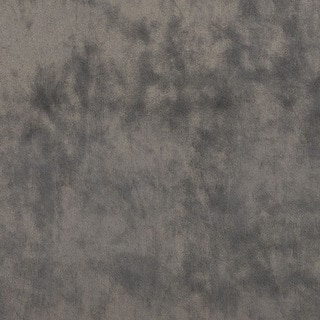 K0300Q Modern Grey Solid Plush Stain Resistant Microfiber Velvet Upholstery Fabric