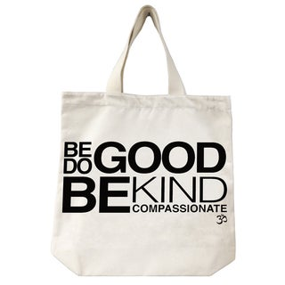 ECO CANVAS TOTE W/ MANTRA
